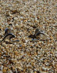 Zilveren handgemaakte oorbellen uit Bali Indonesie