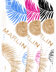 BigBlue Kiteboard Marlin Twintip Freeride Freestyle Womens Only