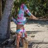 Monique Rotteveel Activewear Eco Friendly Long Leggings Summer Breeze