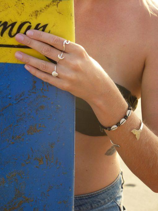 Girls love Sports Ikan Paus armband bracelet Whale